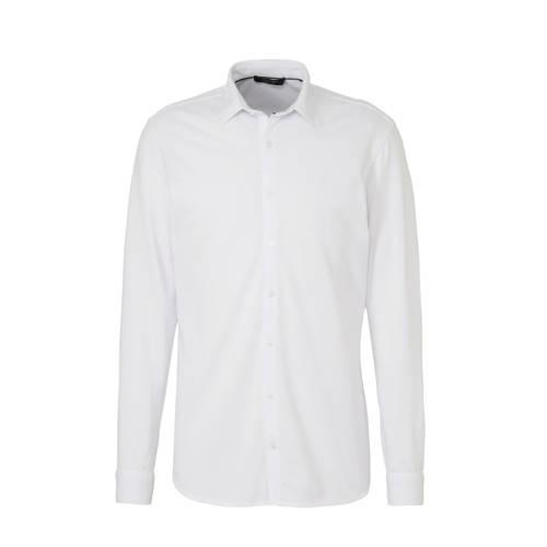 JACK & JONES PREMIUM slim fit overhemd wit
