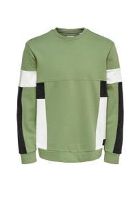 ONLY & SONS sweater groen, Groen
