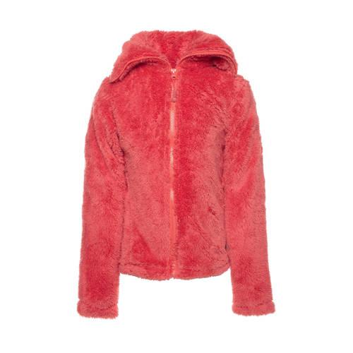 Scapino Mountain Peak fluffy vest roze