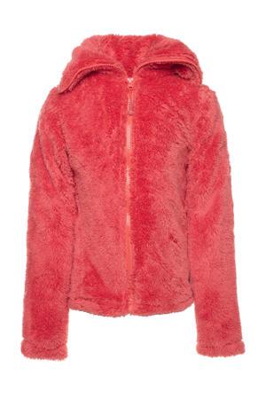 fluffy vest roze