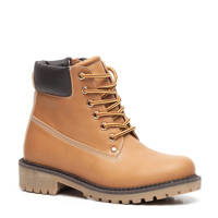 Scapino Blue Box   veterboots camel, camel/cognac