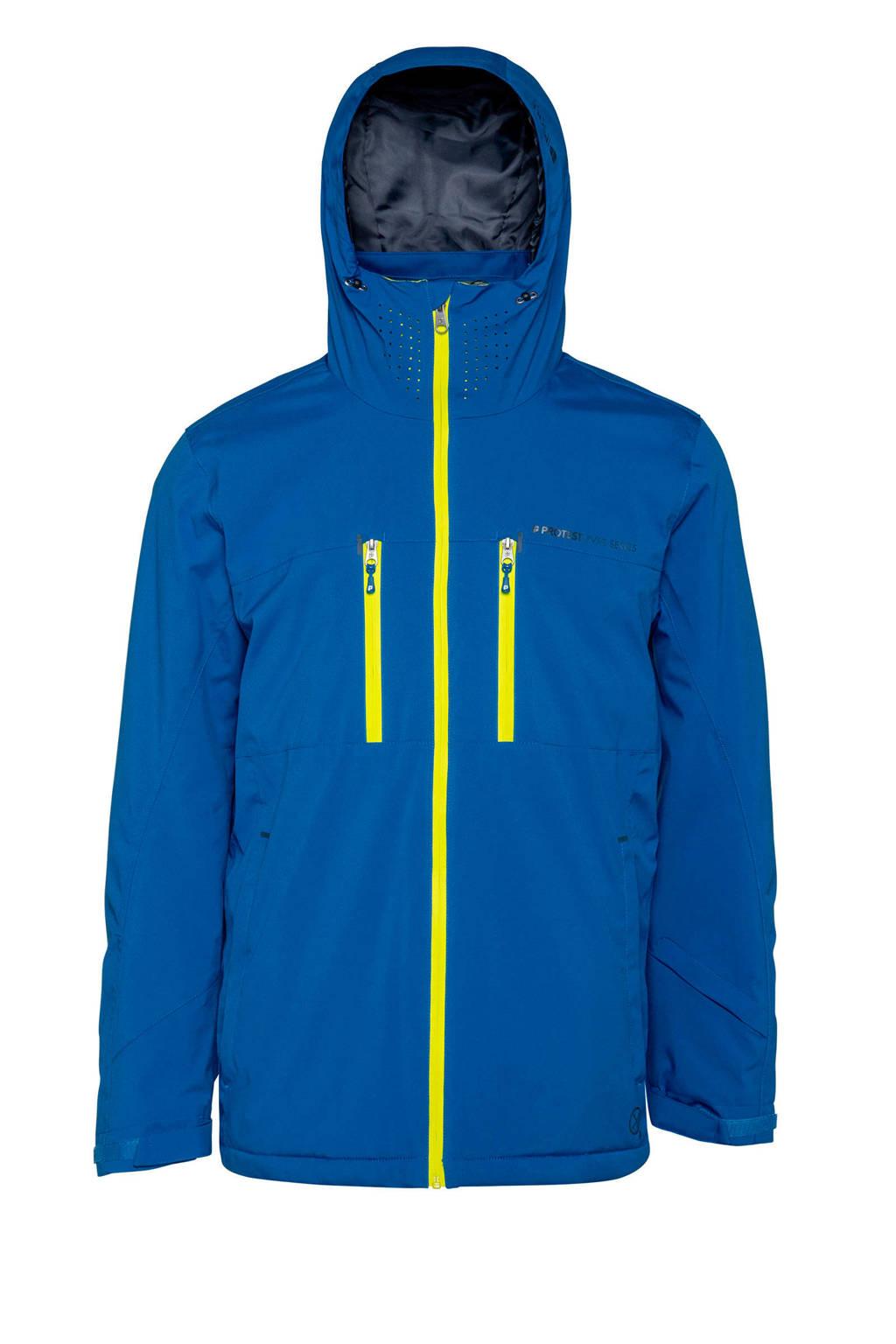 Protest ski-jack Clavin blauw, Blauw