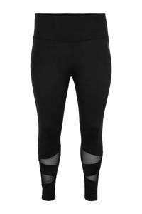 ACTIVE By Zizzi Plus Size 7/8 sportbroek, Zwart