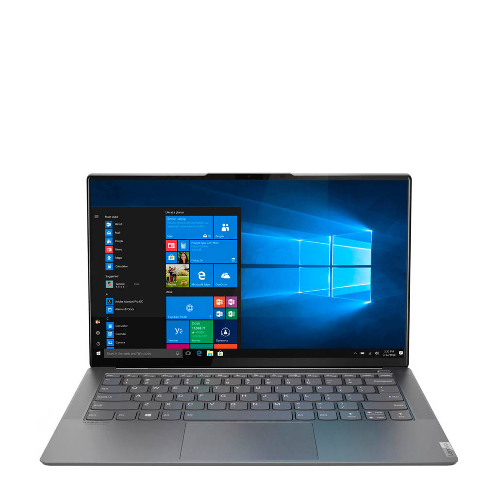 Lenovo YOGA S940-14IWL 14 inch Ultra HD (4K) laptop, Grijs