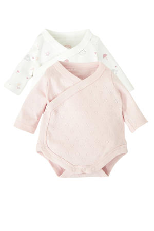 newborn romper - set van 2
