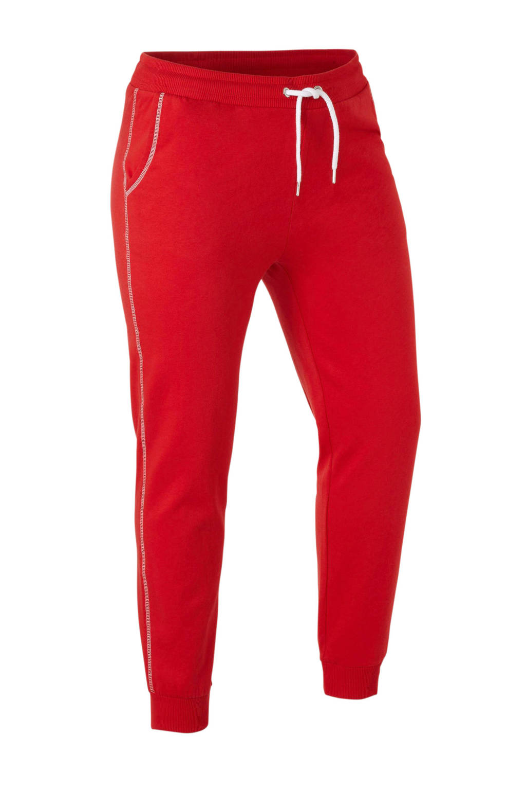 C&A XL Clockhouse loose fit joggingbroek rood, Rood