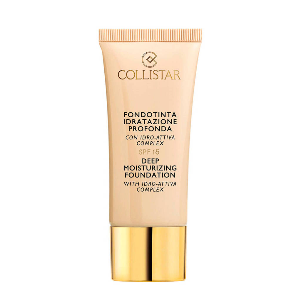 Collistar Deep Moisturizing foundation - 03 Nudo