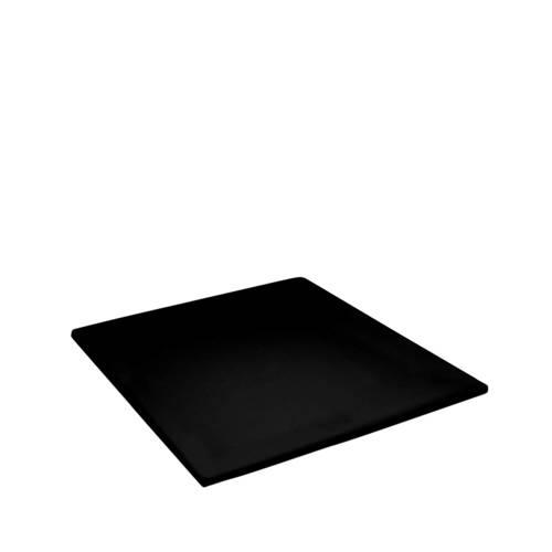 Hoeslaken double jersey topper 90 x 200-210cm black (tot 8 cm) Damai