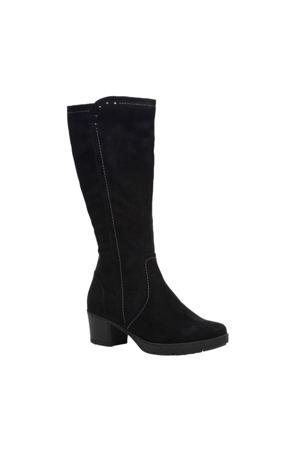 Softline   laarzen zwart
