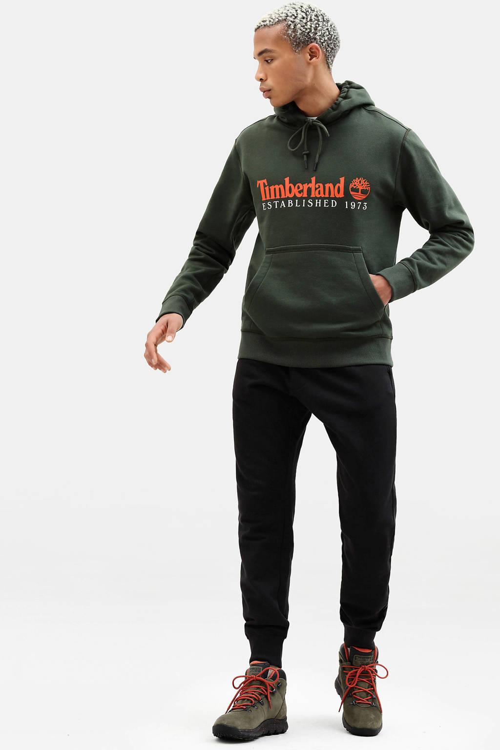 Timberland hoodie met logo groen, Groen