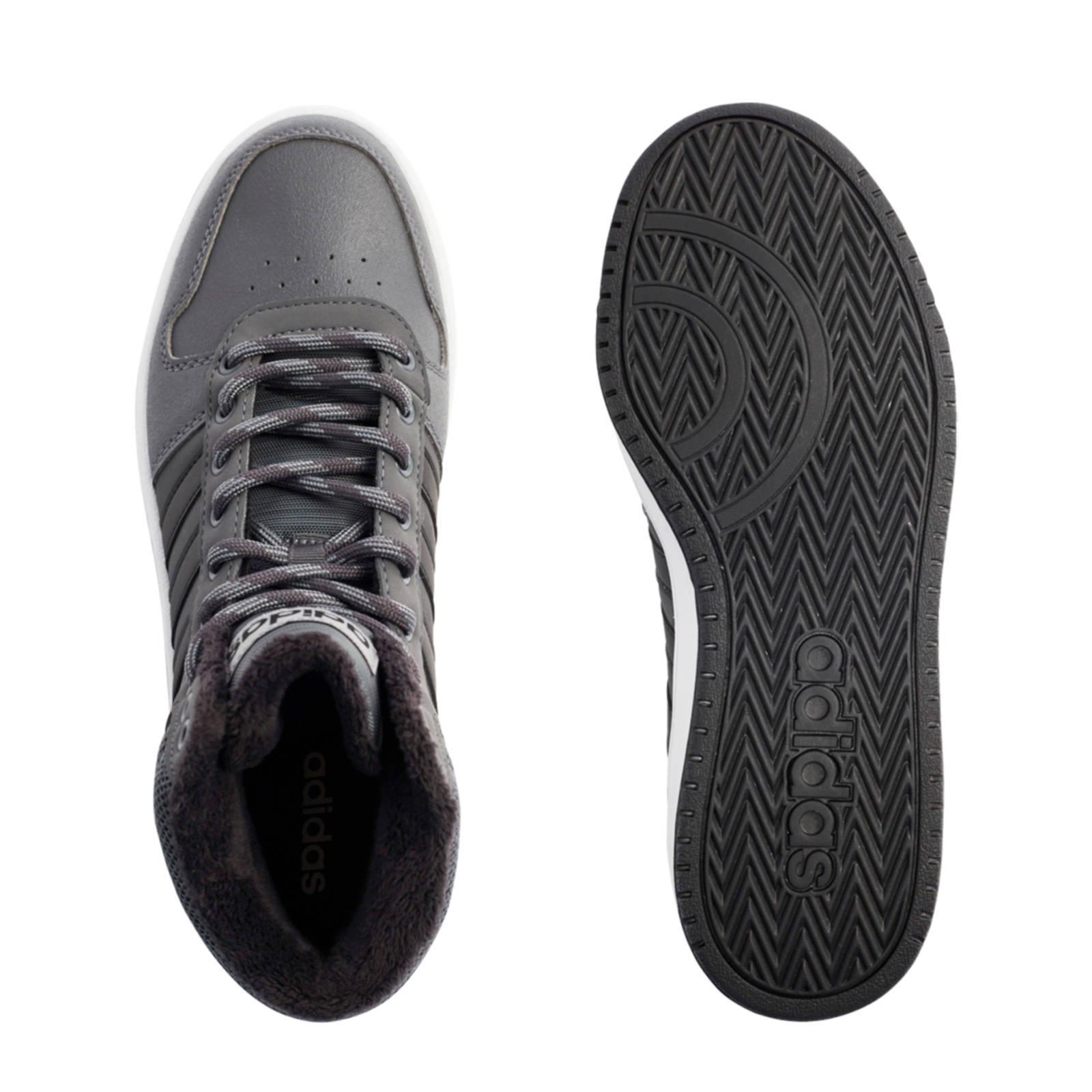 adidas Hoops Mid 2.0 hoge sneakers grijs   wehkamp
