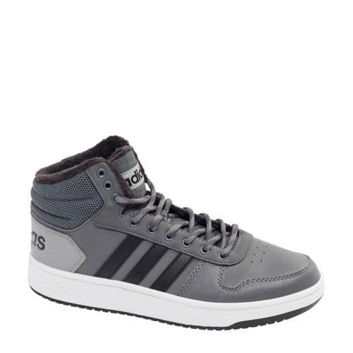 adidas Hoops Mid 2.0 hoge sneakers grijs