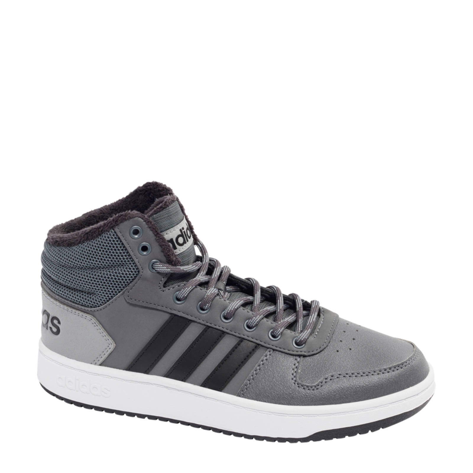 Hoops Mid 2.0 hoge sneakers grijs
