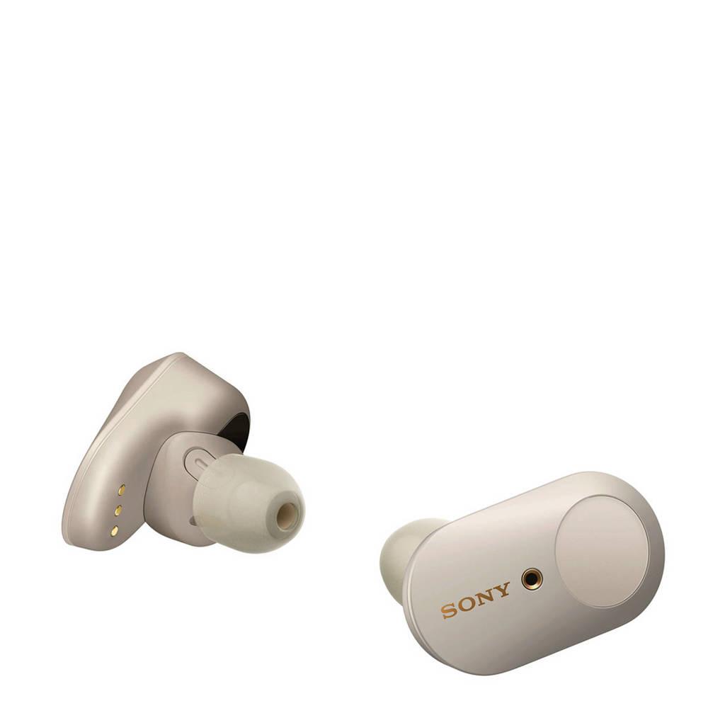 Sony WF1000XM3S Bluetooth oortjes, Zilver