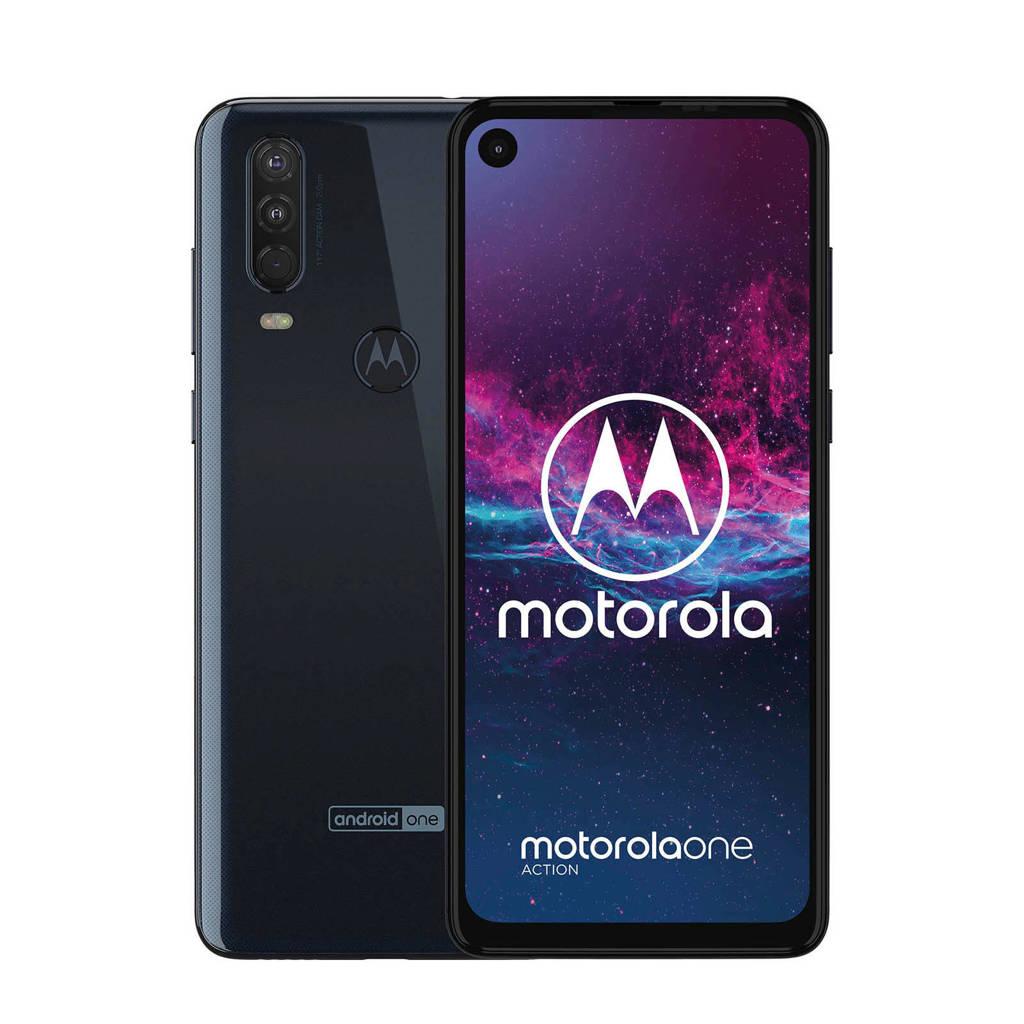 Motorola  smartphone one action zwart, N.v.t.