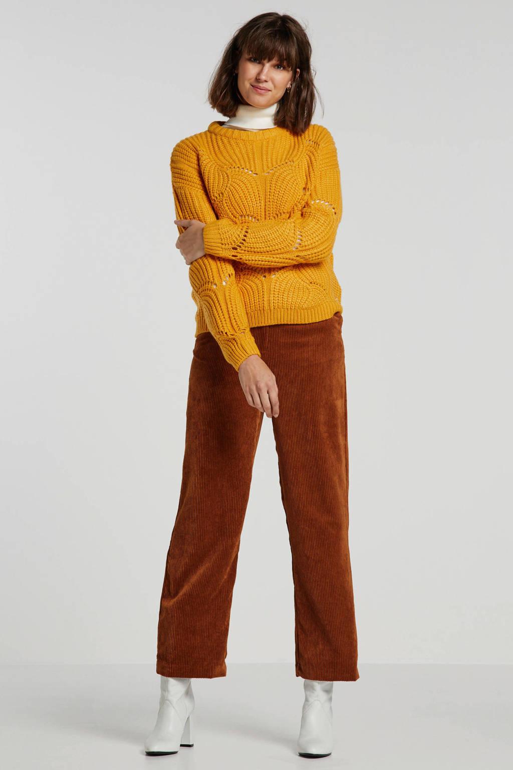 Tom Tailor Denim trui geel, Geel