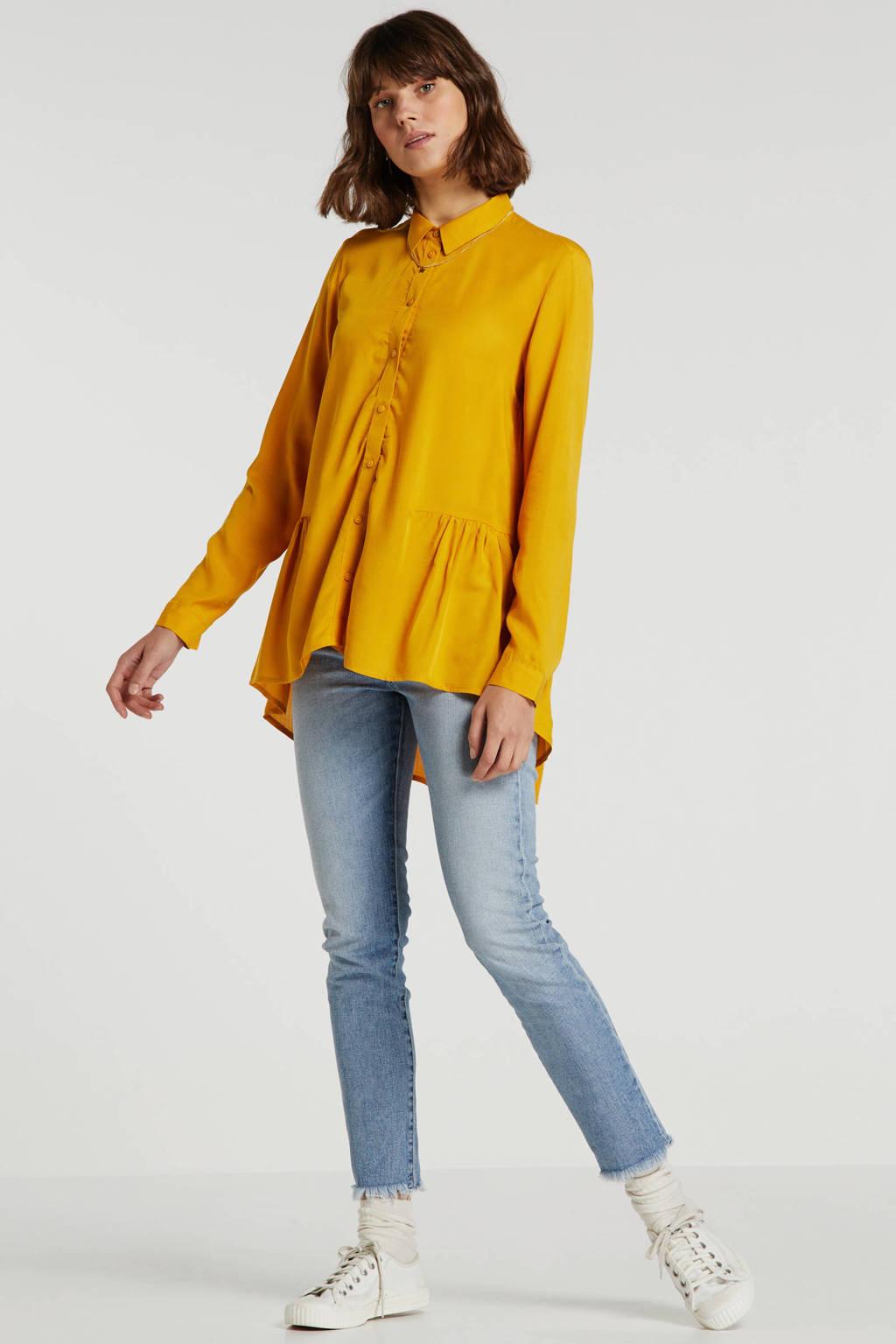 Tom Tailor Denim blouse geel, Geel