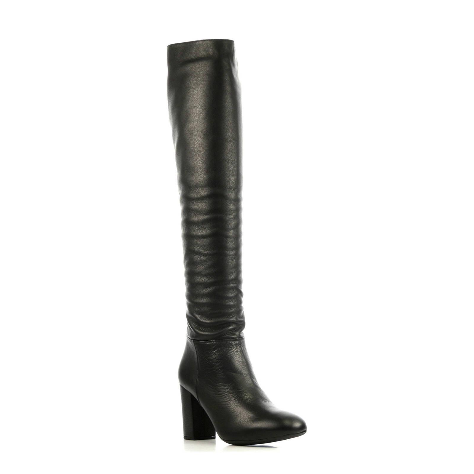 Unisa Dames Laarzen Zwart Oris | Van den Assem
