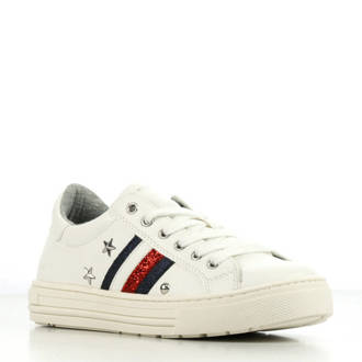 T3A4 30436 leren sneakers wit