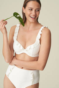 Marie Jo beugel bikinitop Celine met ruches wit, Wit