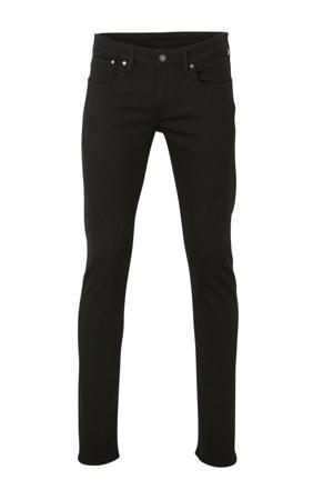 slim fit jeans Hatch zwart