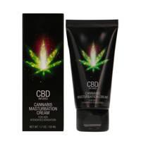 Pharmquests CBD Cannabis Masturbatie Creme voor Haar - 50 ml, Transparant