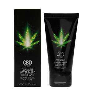 CBD Cannabis Glijmiddel op Waterbasis - 50 ml