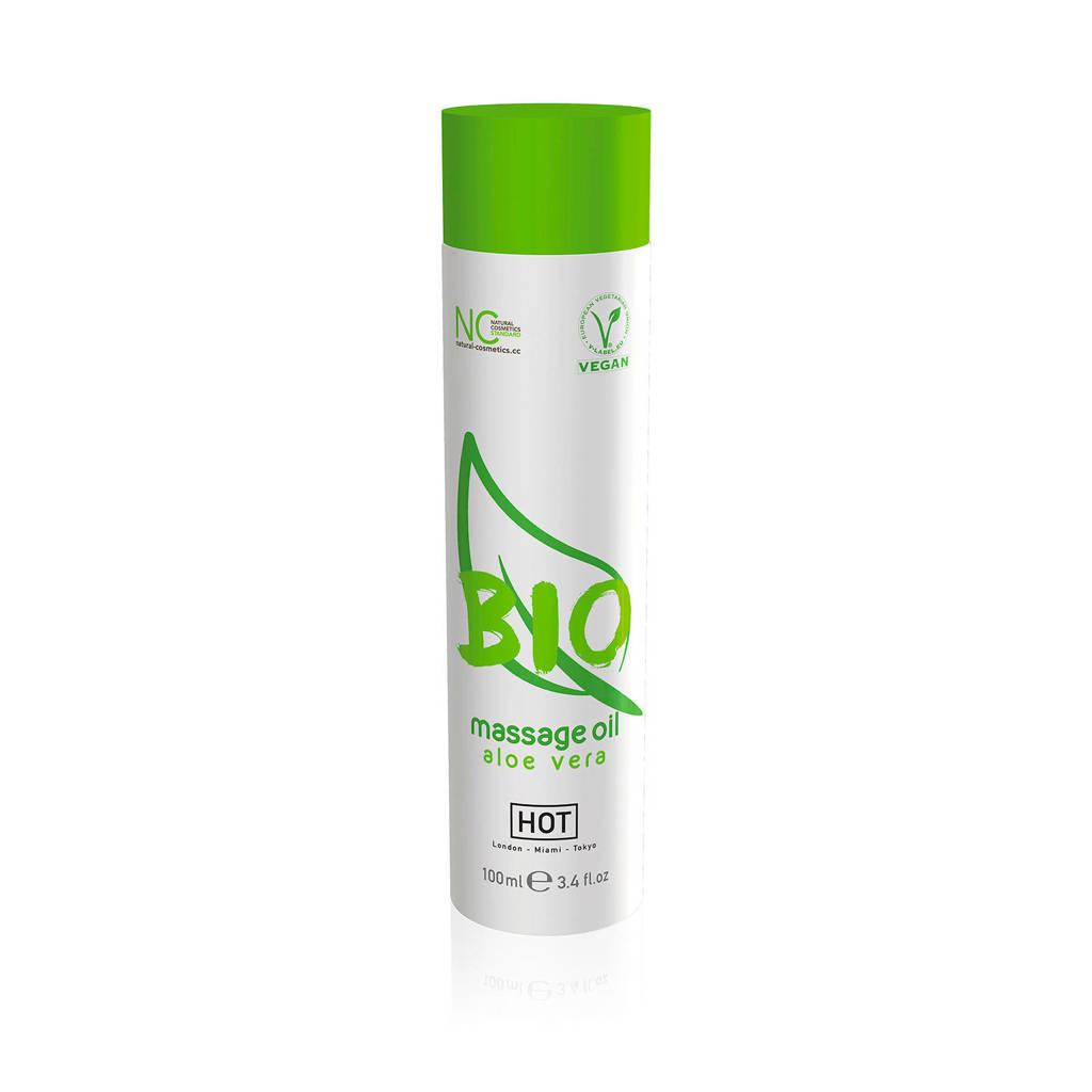 HOT HOT BIO Massage olie - Aloë vera - 100 ml