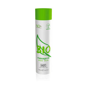 HOT BIO Massage olie - Aloë vera - 100 ml