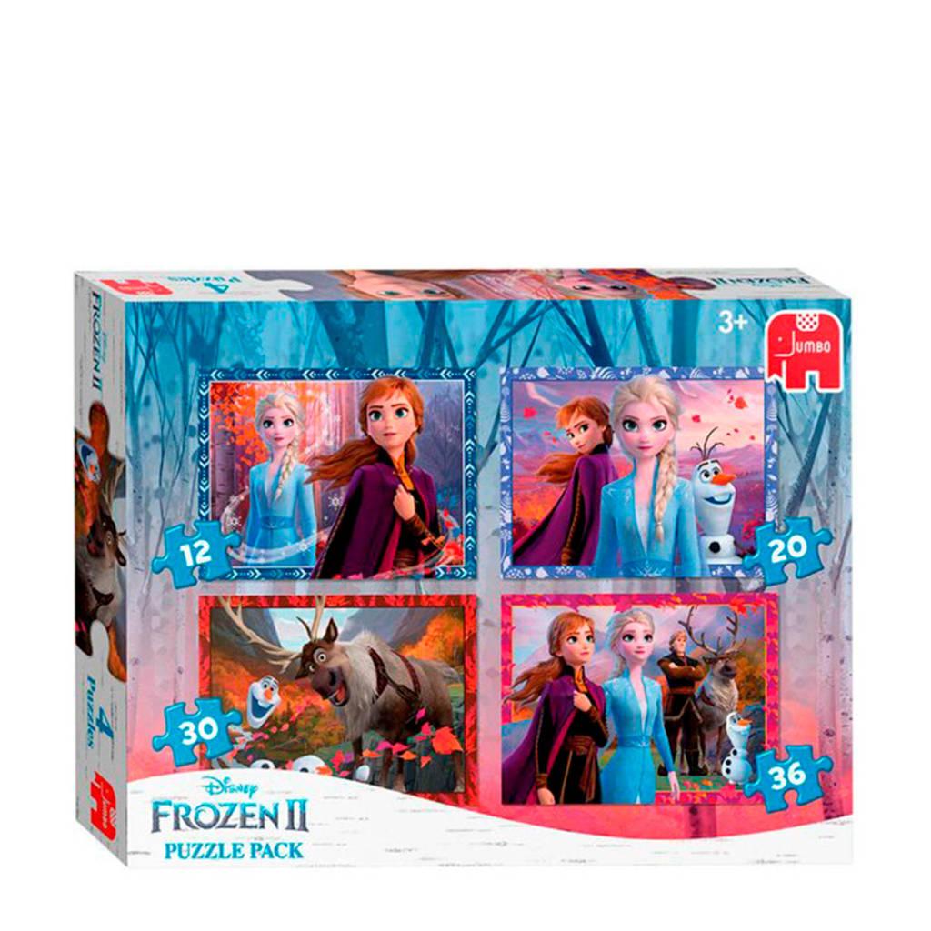 Disney Frozen 2 4-in-1 puzzel  legpuzzel 98 stukjes