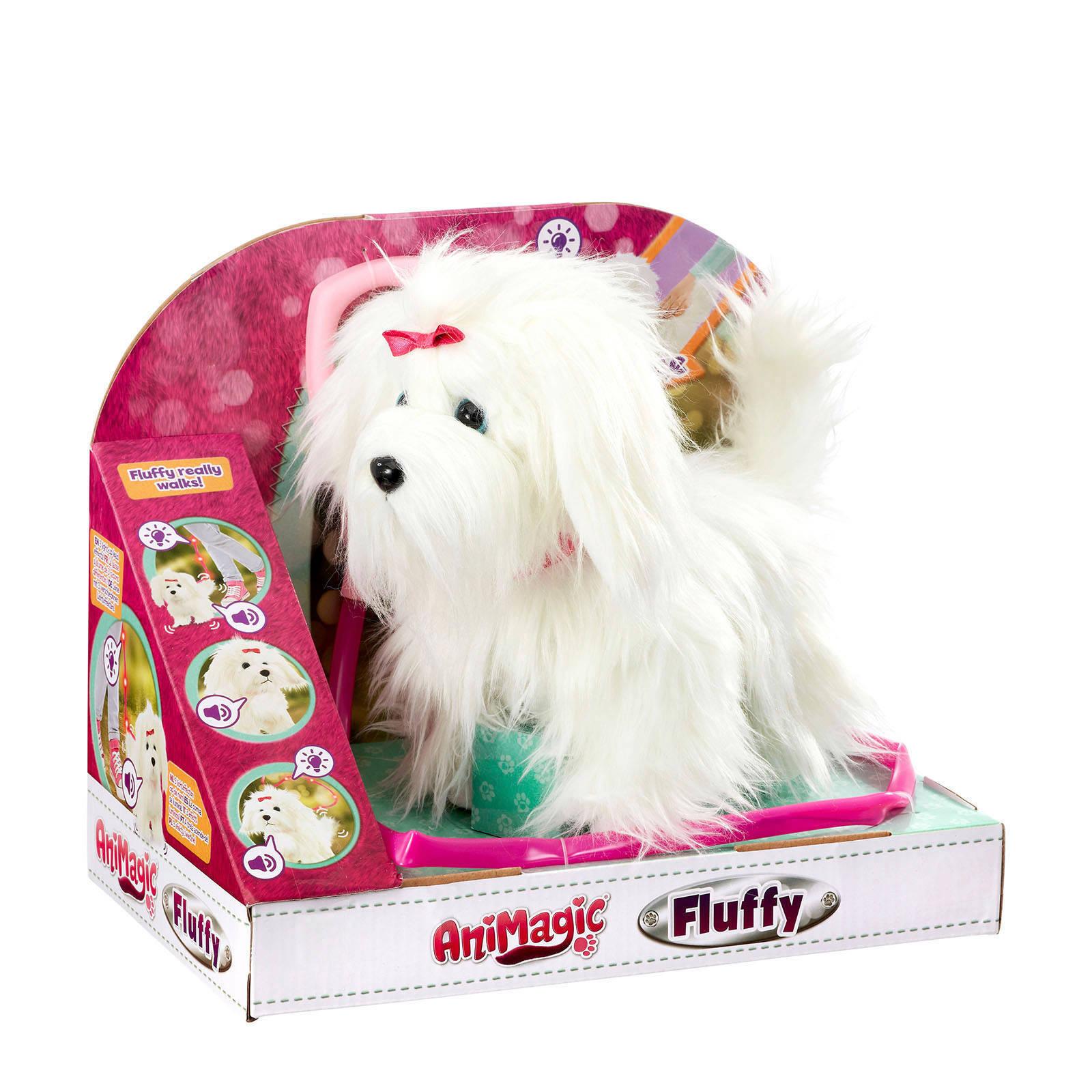 Animagic Fluffy interactieve knuffel