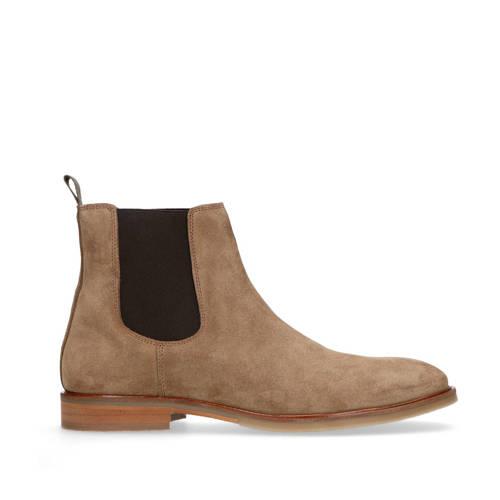 Sacha su??de chelsea boots taupe