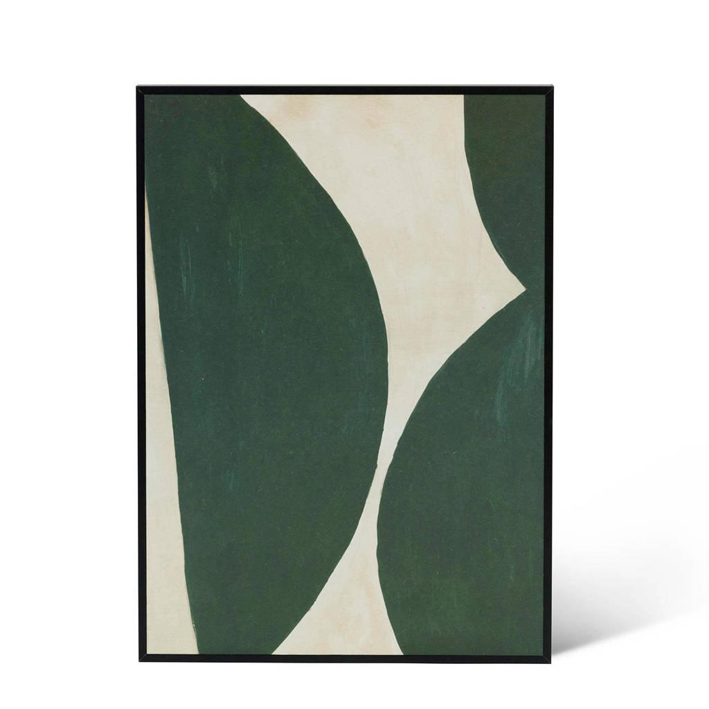 Urban Nature Culture poster in lijst (35x25 cm), Groen