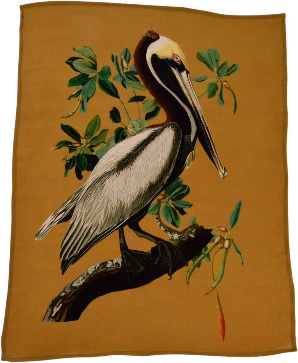 À la viscose poster (59x42 cm), Donkergroen
