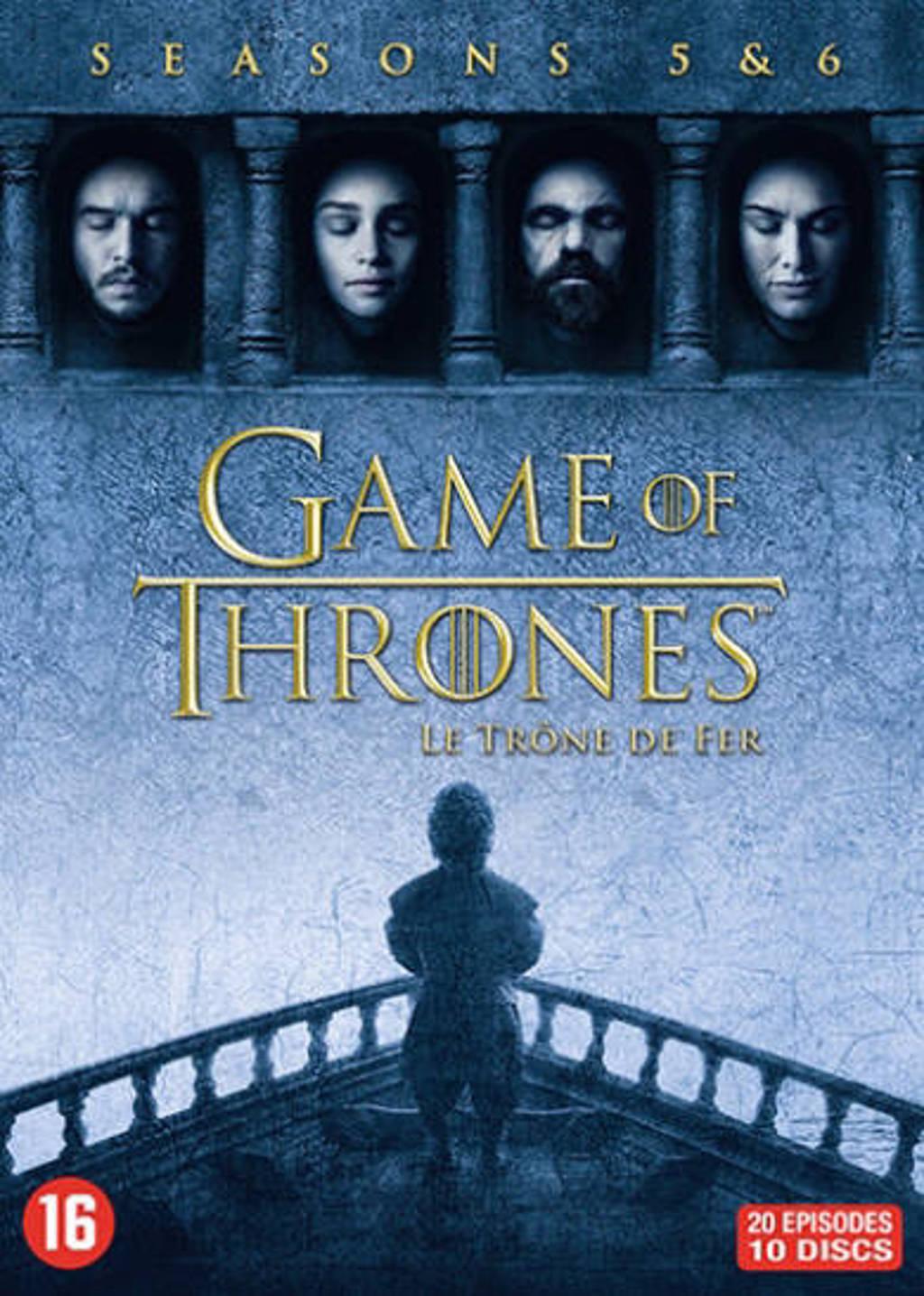Game of thrones - Seizoen 5 & 6 (DVD)