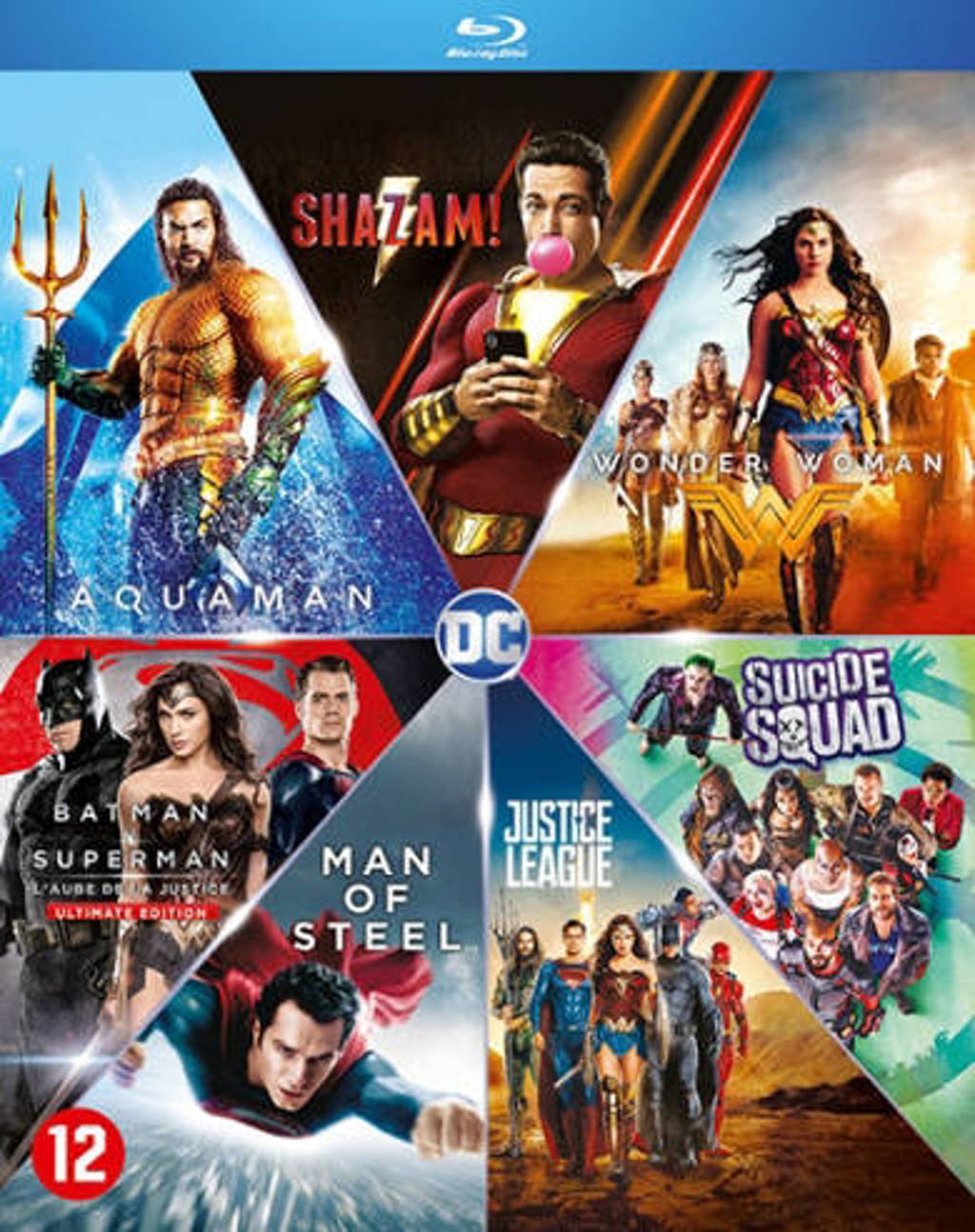 DC comics movie collection (7 films) (Blu-ray)