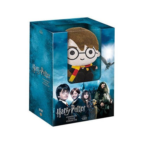 Harry Potter - Complete 8-film collection (+pluche