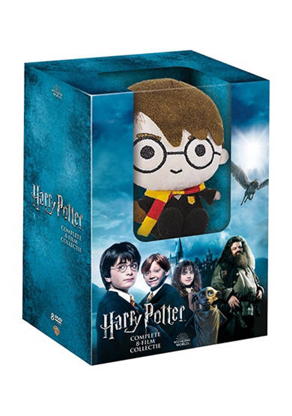 Harry Potter - Complete 8-film collection (+pluche)  (DVD)