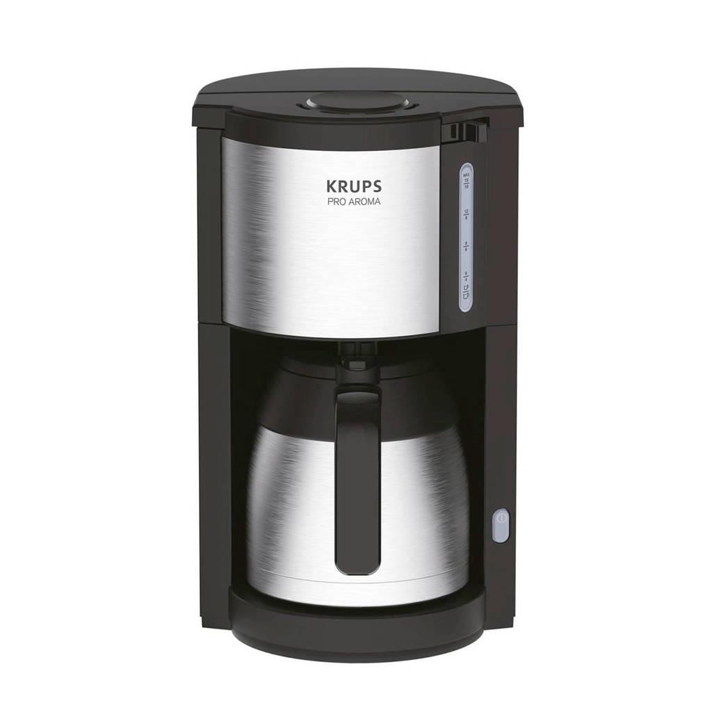 Krups KM305D koffiezetapparaat, Zwart, zilver