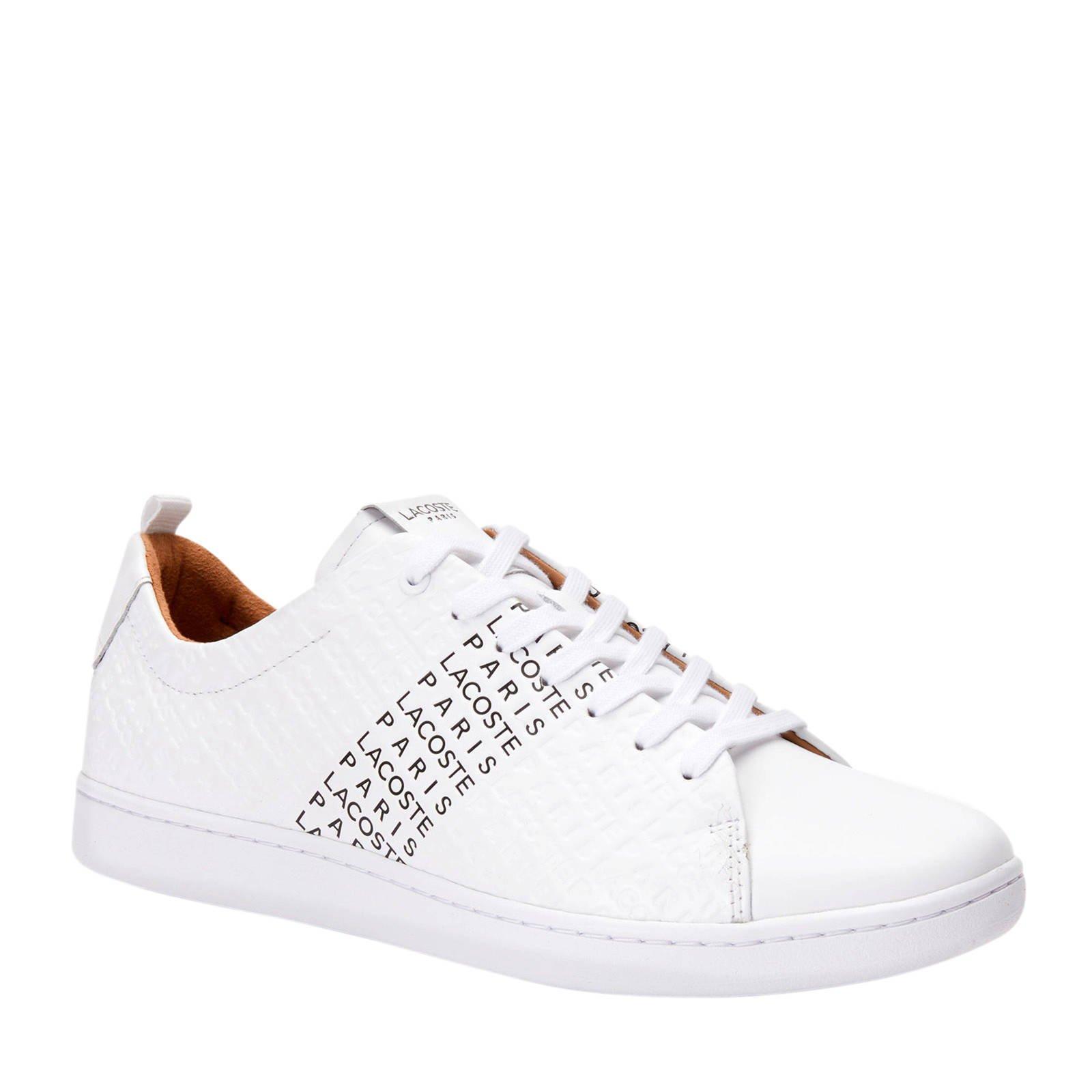 Lacoste Carnaby Evo 319 sneakers witzwart   wehkamp