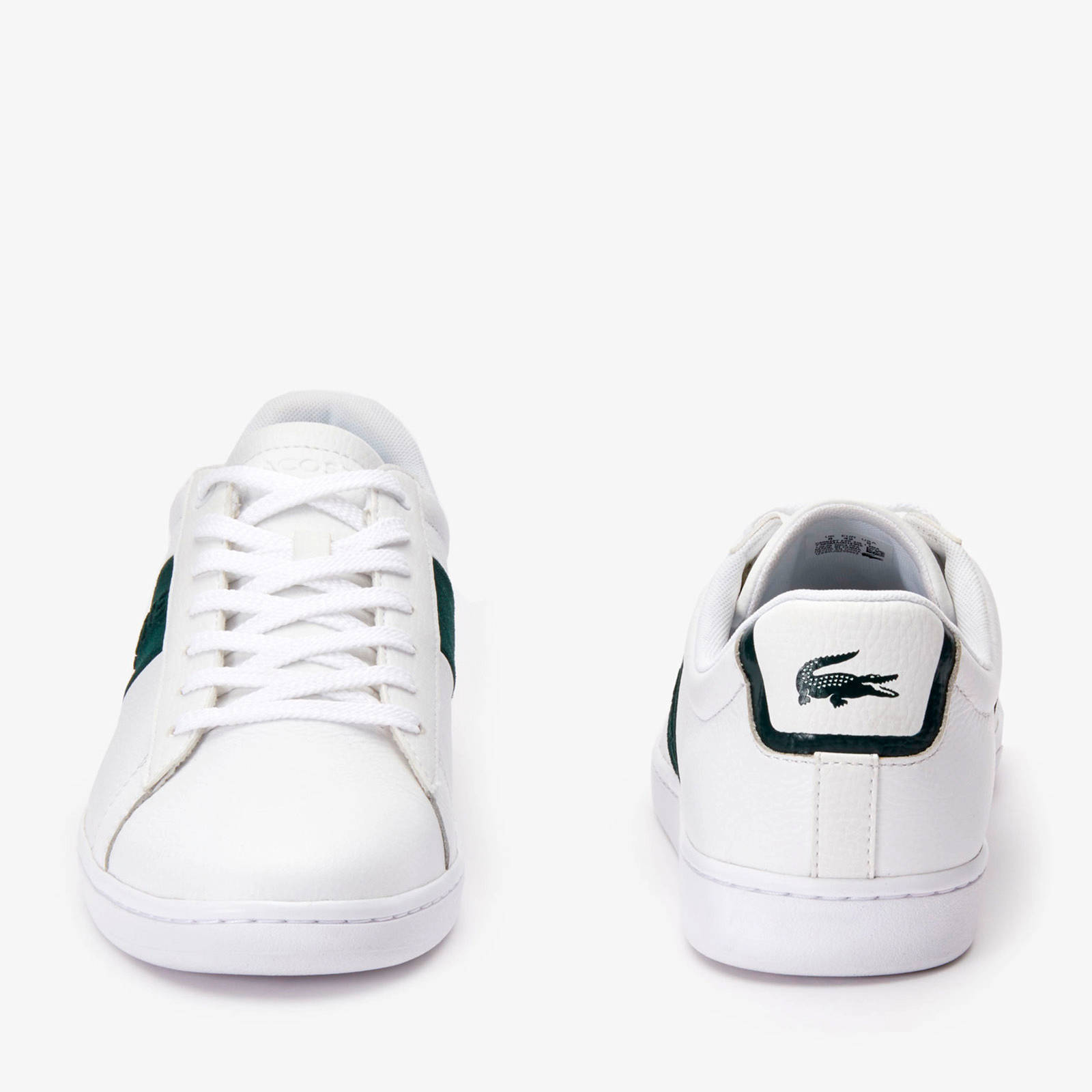 Lacoste Carnaby Evo 319 sneakers witgroen   wehkamp