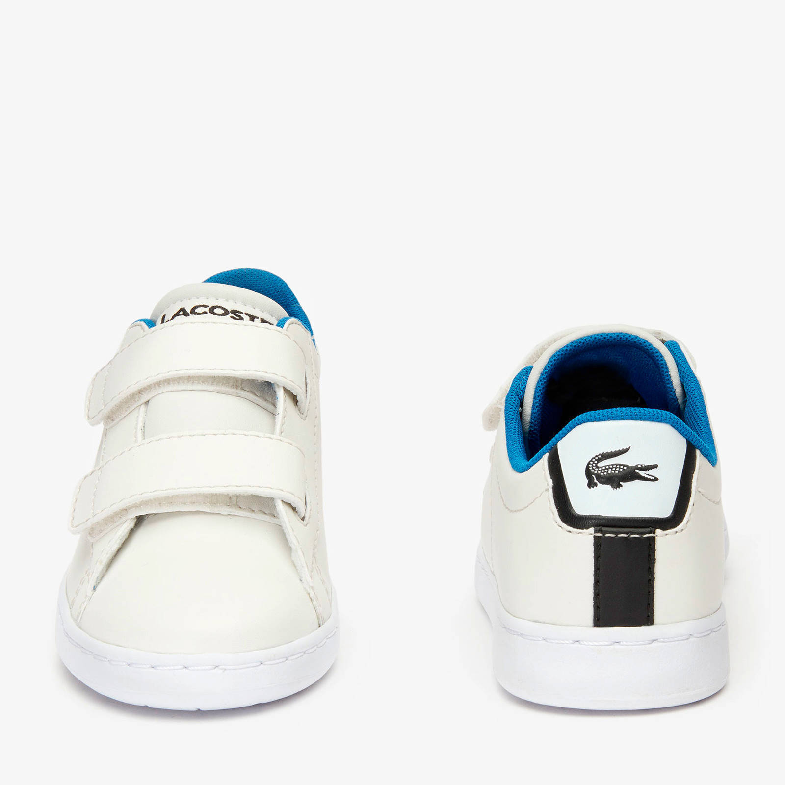 Lacoste Carnaby Evo 319 sneakers offwhiteblauw   wehkamp