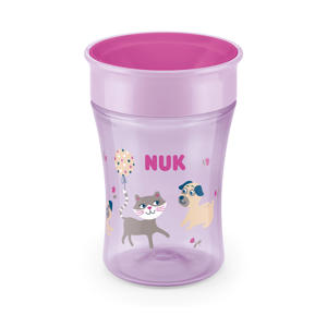 Magic cup drinkbeker 8+ mnd 230ml roze