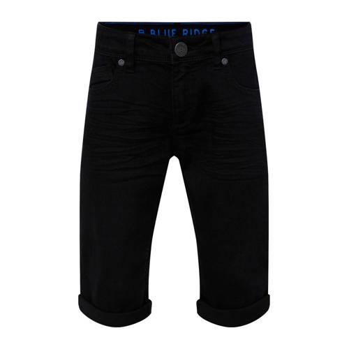 WE Fashion Blue Ridge slim fit jeans bermuda black