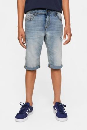jeans bermuda light denim