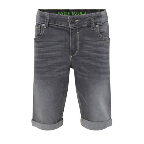 WE Fashion Blue Ridge jeans bermuda lichtgrijs