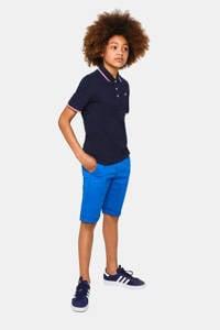 WE Fashion regular fit bermuda blauw, Kobaltblauw