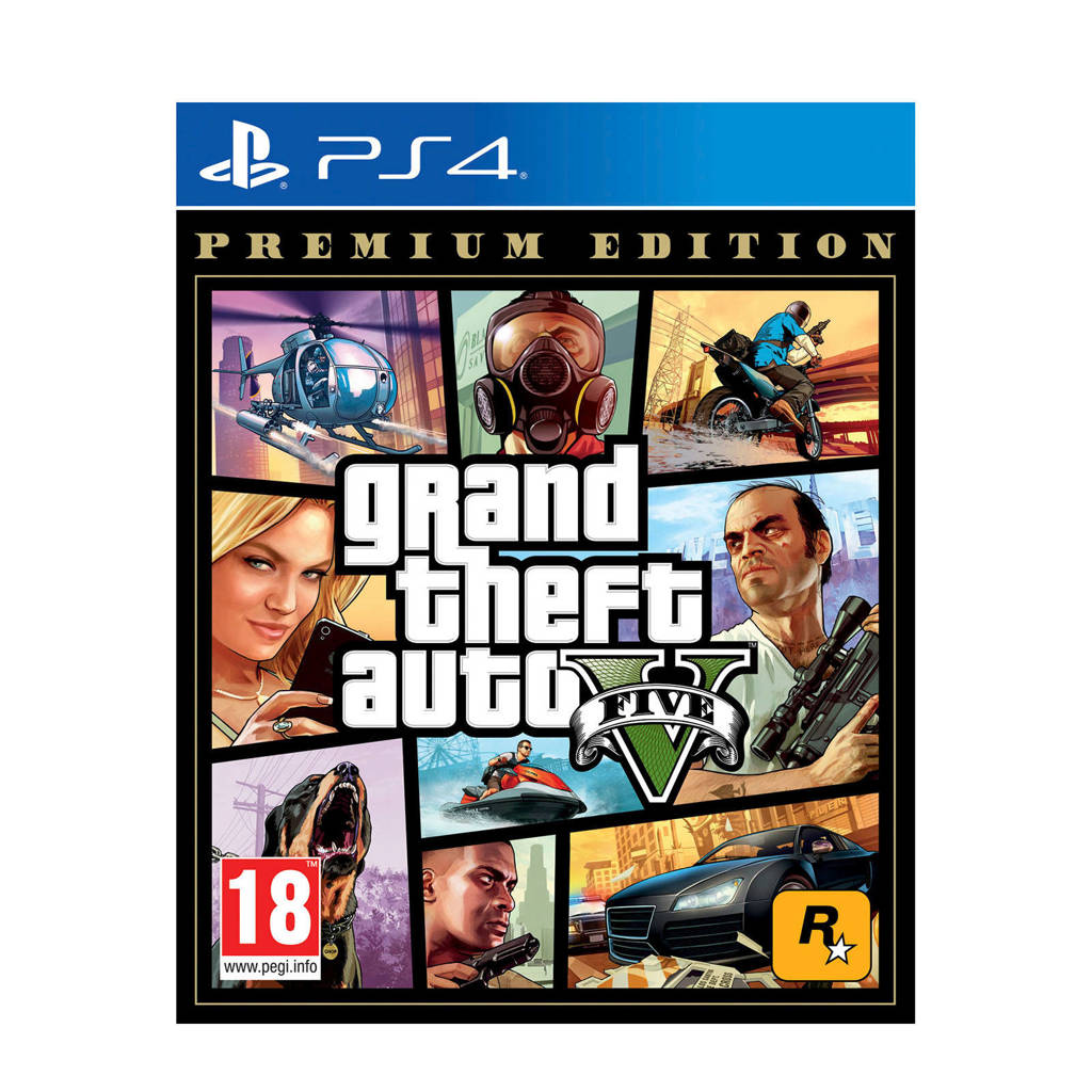 GTA V Premium Edition (PlayStation 4), N.v.t.