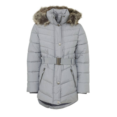 C&A Here & There parka winterjas grijs