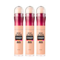 Maybelline New York Instant Age Rewind concealer - 3 stuks multiverpakking, 01 Light